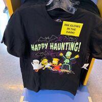 Universal Studios Halloween 2019 The Simpsons Happy Haunting! Mens Shirt XL