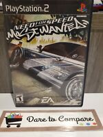 Need For Speed Most Wanted Ps2  (Sony PlayStation, 2005)