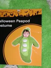 HALLOWEEN PEAPOD INFANT COSTUME SIZE: 0 - 9 MONTHS CUTE! CUTE!