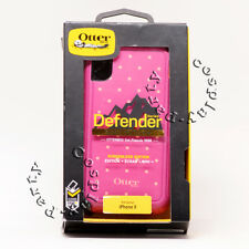 OtterBox Defender iPhone X iPhone 10 Hard Case w/Belt Clip Coral Dot Purple Pink