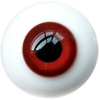 [PF] Y39#18mm Bright Red Eyes For BJD Doll Dollfie Glass Eyes