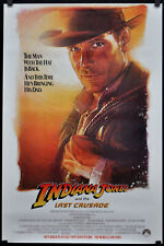 Indiana Jones And The Last Crusade 1989 Orig Nm Movie Poster 27X41 Harrison Ford