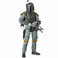 kb09 MEDICOM TOY MAFEX Star Wars BOBA-FETT Action Figure Japan Import Official