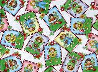 FAT QUARTER MARY ENGELBREIT FABRIC MARY'S FAIRIES FAIRY QUILTING TREASURE COTTON
