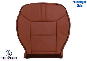 2008 Hummer H2 -Passenger Side Bottom Leather Seat Cover Sedona Brown Brick
