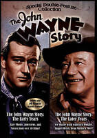 The John Wayne Story: The Early Years / The Later Years (DVD, Double Feature)