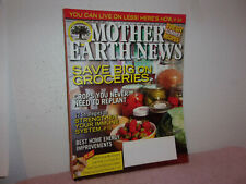 "MOTHER EARTH NEWS  MAGAZINE."" GUILD TO LIVING WISELY "" AUGUST / SEPTEMBER,  2010"