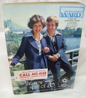 Large Vintage 1976 Montgomery Ward Spring and Summer Catalog