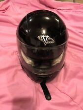 Vega Full Face Attitude Black Small Motorcycle Helmet