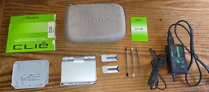 Sony CLIE PEG-UX50 PDA Organizer Palm OS - Camera Bluetooth Wi-Fi. With BONUSES!