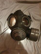 More details for strange rare british gas mask respirator light ww2 paratrooper mk 3 medium