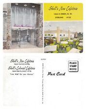 NO 35A - SHOLL'S NEW CAFETERIA, STIRLING POSTCARD - UN-POSTED