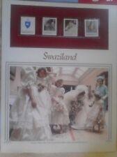 Royal Philatelic Panel, Swaziland, 1981 The Royal Wedding Prince Charles, Lady D