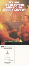 TRICK - THE GAY DATE MOVIE UNUSED ADVERTISING COLOUR POSTCARD