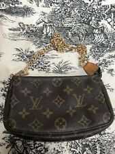 Louis Vuitton Mini Pochette Monogram Clutch Bag