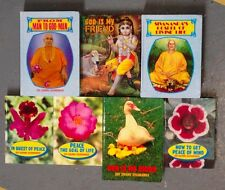 Set of 7 Swami Sivananda Self Help Books Pop Art Quotes Yogi Yoga Hindu Vedanta