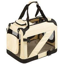 Cage sac box panier caisse de transport pour chien chat mobile pliable 50x35x46