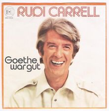 "Rudi Carrell - Goethe war gut / Mein Dorf / 7"" Single von 1978"