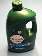 Cascade Complete Gel Dishwasher Detergent 155oz 8x Power Fresh Scent New Dawn