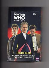 15 Doctor Who Topps 2016 Timeless Base, Doctor & Companions cards of your choice