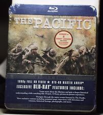 NEW THE PACIFIC ON BLU-RAY 10 PART MINISERIES ON 6 DISCS! COLLECTIBLE TIN SEALED