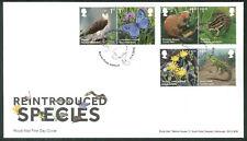 2018 Reintroduced Species FDC -Beaver Rd  Postmark -Sent Post Free