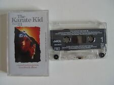 The Karaté Kid-part III 3-MC Cassette tape MCA original bande son album