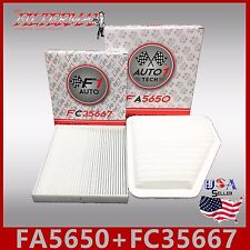 FA5650 FC35667  CA10169 CF10285  SCION TOYOTA LEXUS - ENGINE & CABIN AIR FILTER