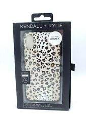 BRAND NEW iPhone X Case Leopard Print 5 Foot Drop Protection Kendall & Kylie