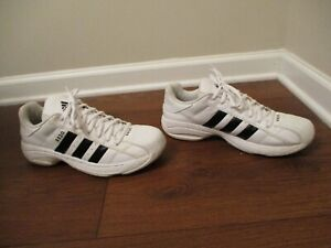 Used Worn Size 11.5 Adidas Superstar 2G Shoes White & Black SS2G