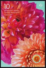 Canada 3238a Booklet MNH Flowers, Dahlia