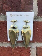 💖🌟NWT Kendra Scott Stellar Earrings in Antique Brass Metal🌟💖