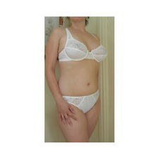 Pasturnette White Baccarat Non Wired Full Cup Bra 38D