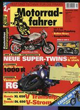 MF 12/05 YZF-R6 Tuono 1000 R XL 650 DL 650 CH Racing WSM Beta Motard CBR 1100 XX