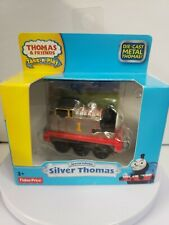 VHTF SPECIAL EDITION SILVER THOMAS THE TRAIN 2013 DIE CAST TAKE-N-PLAY