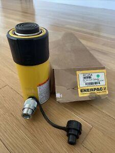 "Enerpac RC-254 NICE! 25 Ton 4"" Stroke Hydraulic Cylinder NEW"