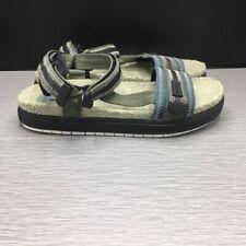 Diesel Men's Sa-Grand Lc-Sandals, Jungle Green/Black, Size EU 45/ US 12