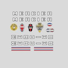 Mercier Bicycle Frame Stickers - Decals - Transfers n.0307