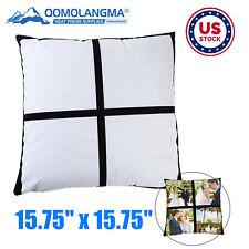 Usa 1575 X 1575 Sublimation Short Plush 4 Photo Panel Pillow Covers 10pcs