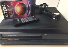 Emerson VCR952 VCR VHS Player Video Cassette Recorder Tested w/ Remote