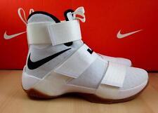 Nike Zoom LeBron Soldier 10 iD SZ 9 (885682-991) Men's White Nike iD Shoe