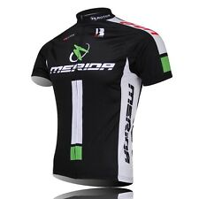 Merida Team Cycling Tops  Mtb Bike Clothing Coolmax Retro Bicycle Jersey S-3XL
