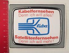 ADESIVI/Sticker: Fuba-televisione via cavo televisione satellitare (13031628)