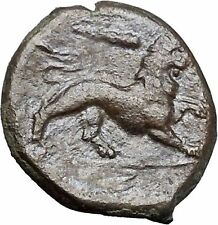 SYRACUSE Sicily 4th Democracy 289BC Hercules Nemean Leo Lion Greek Coin i49198