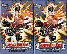"""Garbage Pail Kids """"Battle Of The Bands"""" Retail Display Box 2 Pack LOT"""