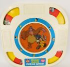 Vintage 1964 Mickey Mouse Puzzle Wheel Hasbro Mickey Mouse Club Romper Room