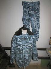 Russian uniform MVD OMON blue woodland pattern camouflage Commandos suit