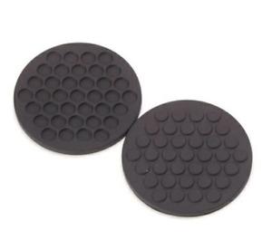 """Masayuki Kurokawa """"gom"""" Rubber Coaster 2 Pieces Dot Hexagon Made in Japan"""