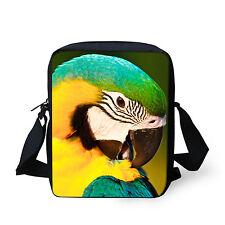 Fashion Parrot Shoulder Bag Women Handbag Messenger Purse Kids Cross-body Bags