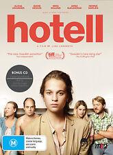 Hotell (DVD Incl. CD Soundtrack) Alicia Vikander - Swedish Film English subs